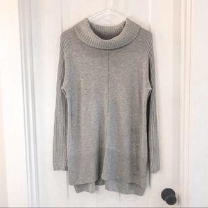 Soft Surroundings Gray Cashmere Sweater Tunic XS